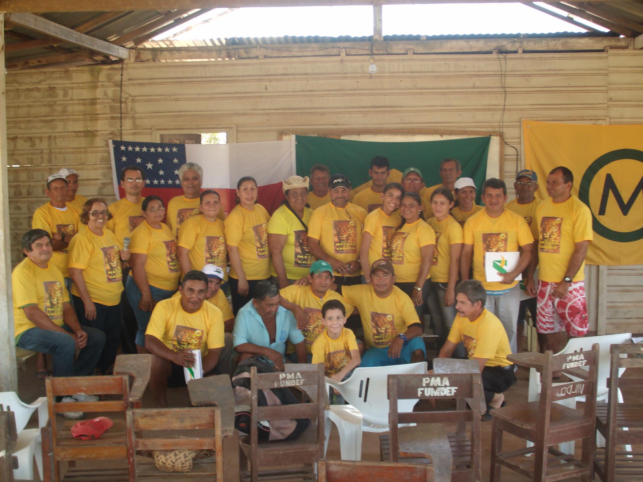 Instalação do Núcleo Mestiço de Autazes (AM), 7/8/2011.