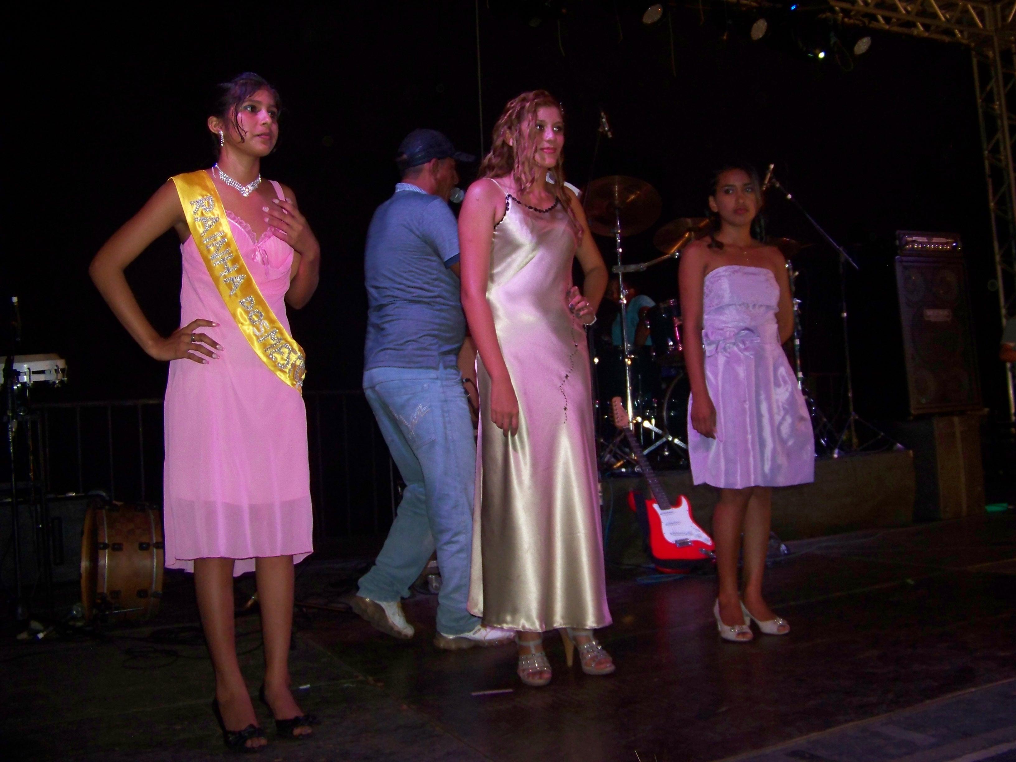 Festa do Mestiço - comemoração do feriado do Dia do Mestiço em Autazes (AM) 27 06 2012 - Concurso Rainha Mestiça