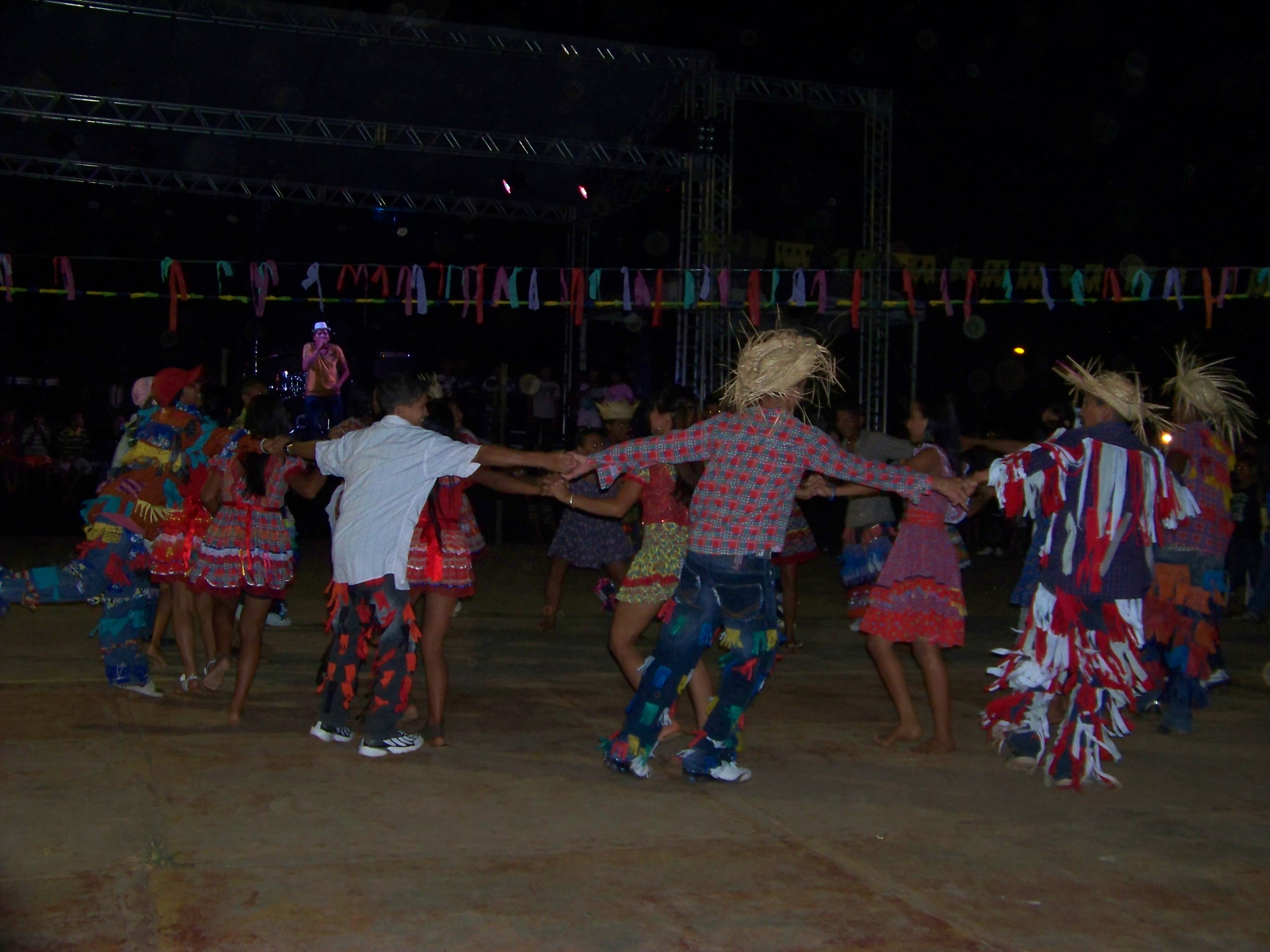Festa do Mestiço comemorando o feriado do Dia do Mestiço em Autazes (AM) 27 06 2012