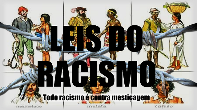 LEIS DO RACISMO