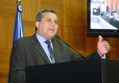 Deputado Baiano Filho (Foto: Ronaldo Mazza-ALMT).
