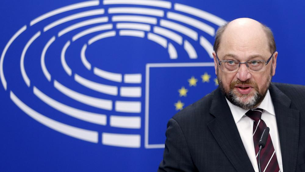 Martin Schulz, presidente do Parlamento Europeu.